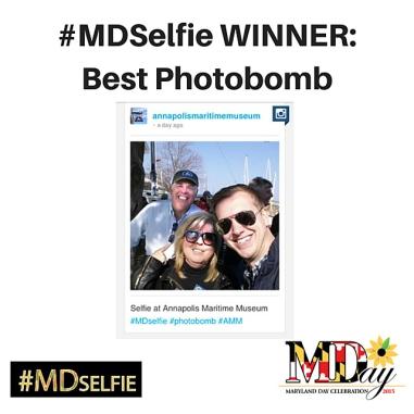 #MDSelfie WINNER-Best Photobomb